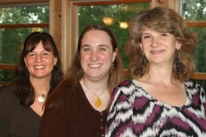 LouAnn Muhm, Jen Geraedts, Kathryn Kysar (l to r)