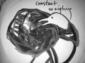 against want constant weighing